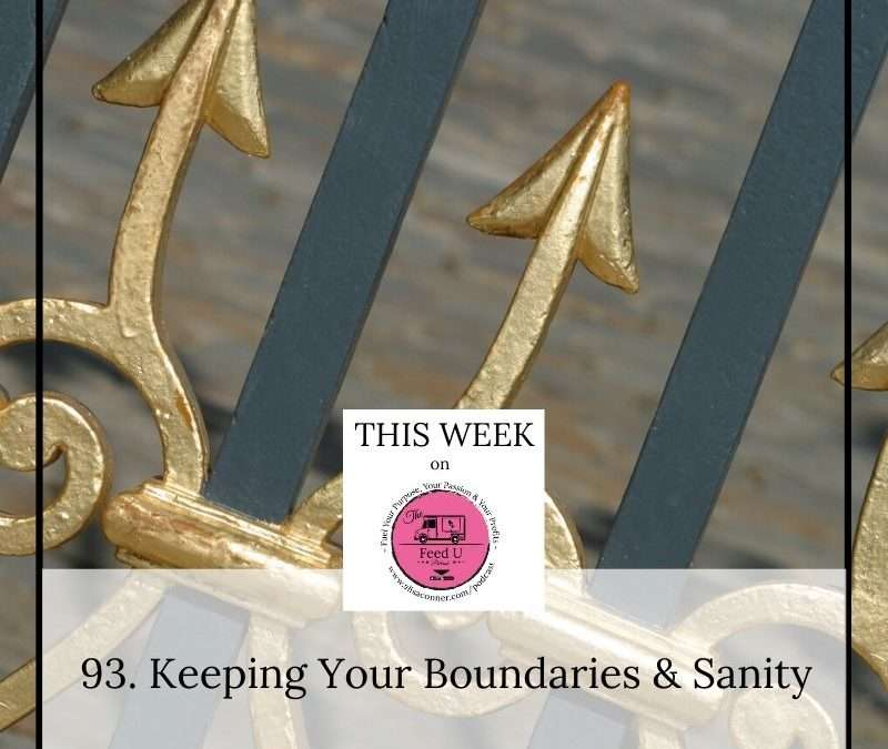 93. Keeping Your Boundaries & Sanity