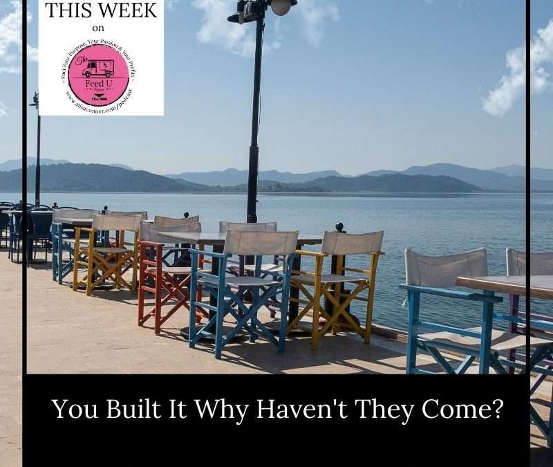 110. You Built It Why Haven't They Come?