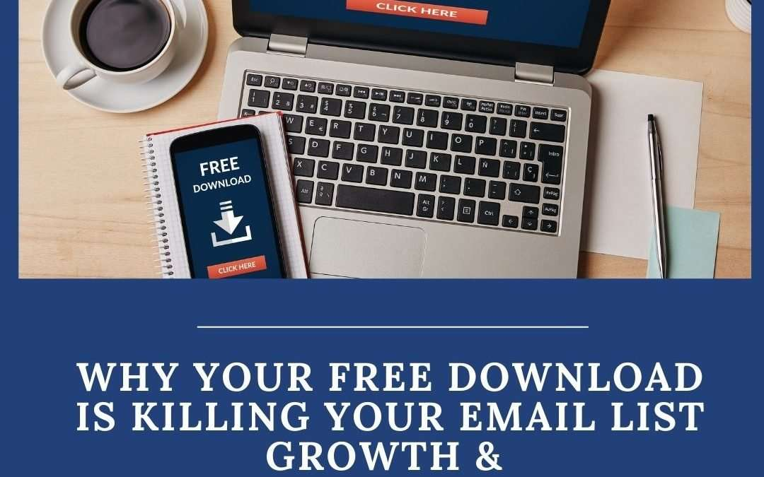Why Your Free Download Isn't Generating Leads (and how to fix it)